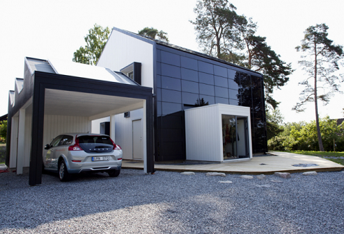 солнечная энергия с фасада и крыши