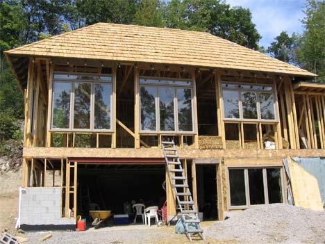 Солнечный дом в Квебеке