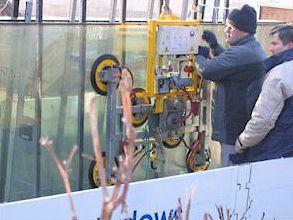 Монтаж окна пассивного отопления 2