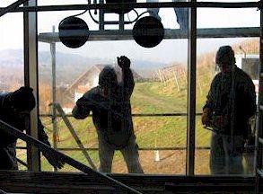 Монтаж окна пассивного отопления 6