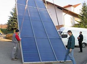 100% Солнечный дом в Германии