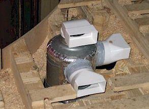 Вентиляция с грунтовым теплообменником